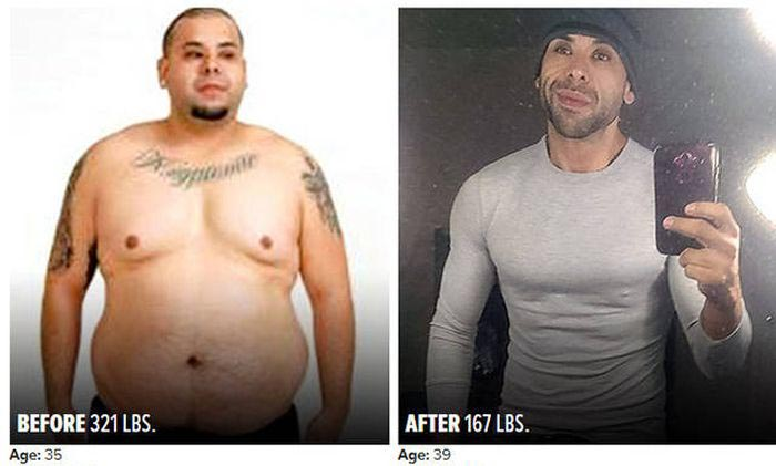 Люди, которые смогли привести в порядок свое тело (40 фото)