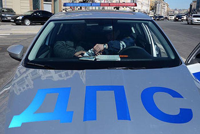 В Орехово-Зуево пьяный полицейский на служебном авто насмерть сбил молодую женщину (2 фото)