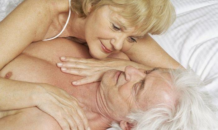 Пожилые люди в сексе