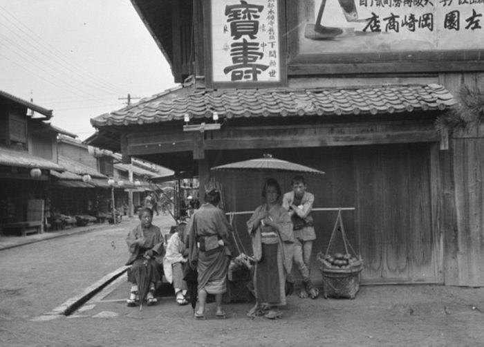 Япония 1908 года на фото Арнольда Генте (14 фото)