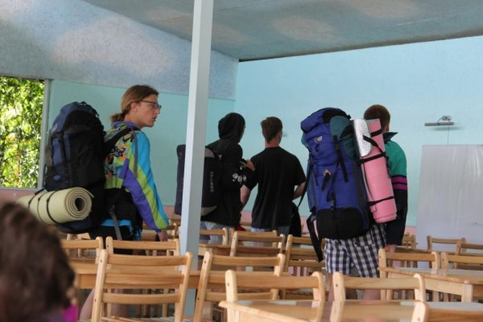 Американцы тоже не прочь отдохнуть в Крыму (9 фото)