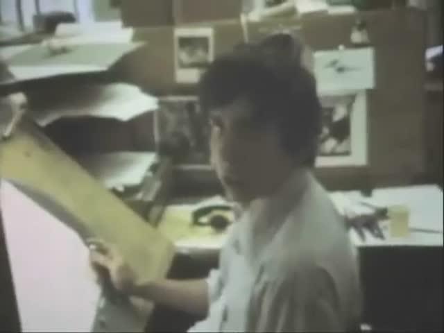 Молодой кинорежесер Тим Бёртон ошеломлен незапланированным интервью