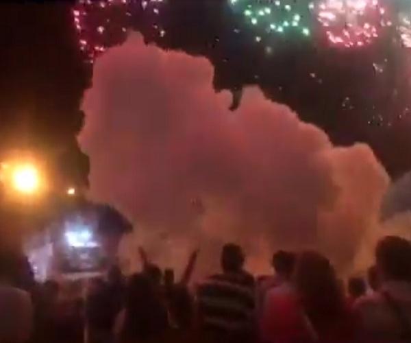 В Дзержинске праздничный фейерверк попал в толпу