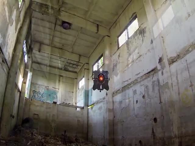 Житель Саратова построил полицейский дрон из Half-Life 2