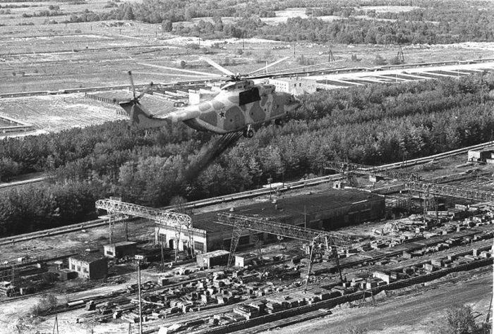 Зона отчуждения ЧАЭС в мае 1986 года (36 фото)