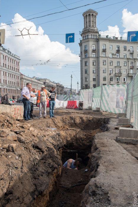 истории и реконструкции москвы: