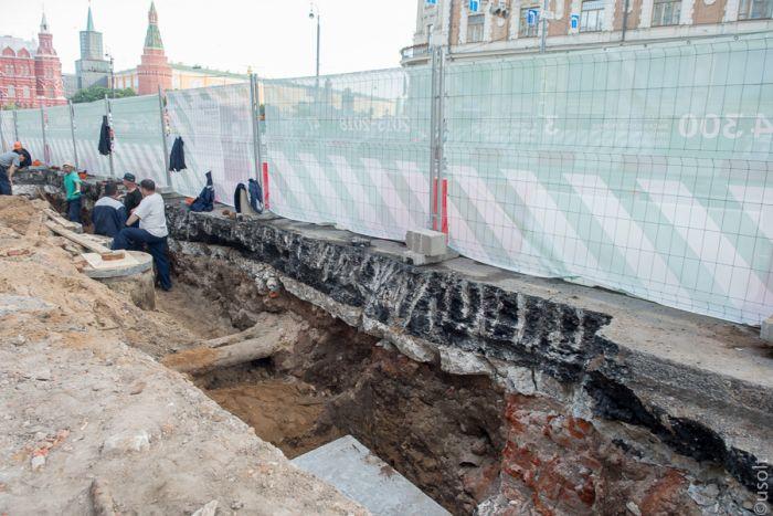 Реконструкция старой Москвы на Тверской (38 фото)