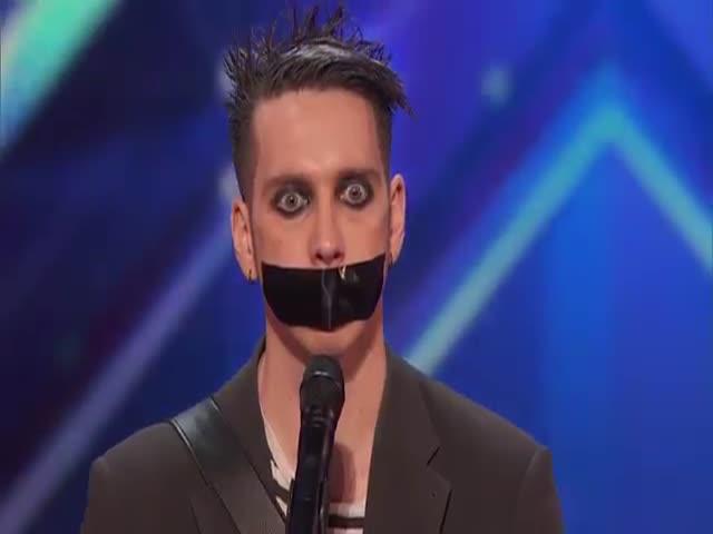 Необычное выступление на шоу America's Got Talent
