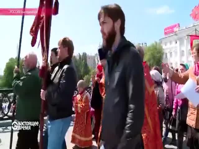 В Екатеринбурге школьники отправились на каникулы крестным ходом
