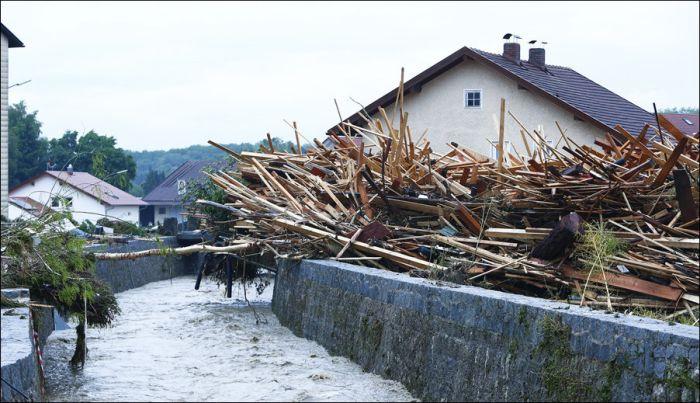 Фотоотчет последствий наводнения в Европе