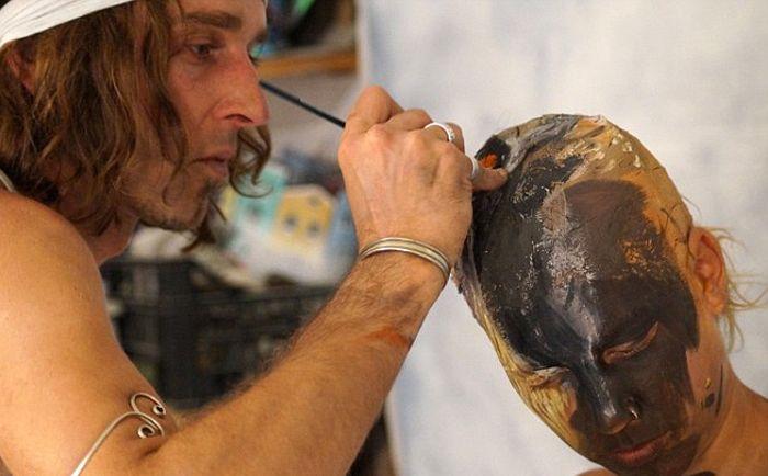Удивительный боди-арт от Иоанна Сеттера (6 фото + видео)
