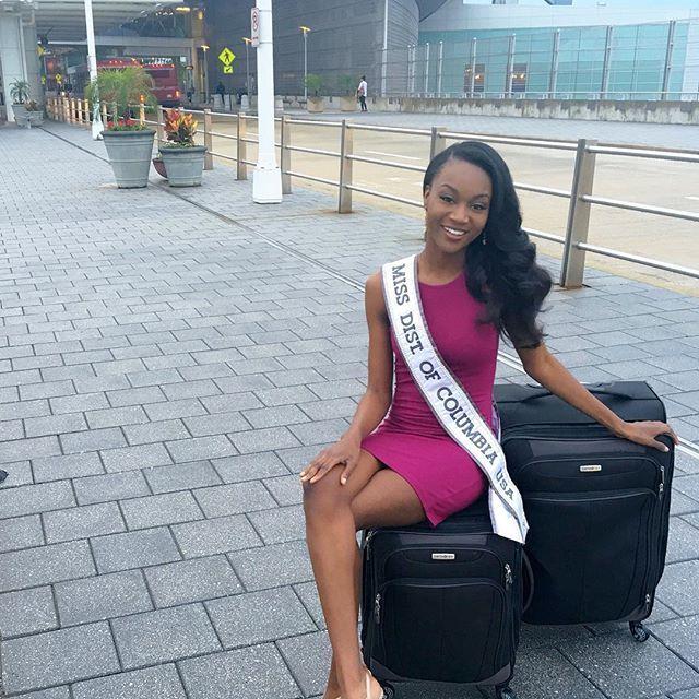 26-летняя военнослужащая Дешона Барбер одержала победу на конкурсе красоты «Мисс США» (17 фото)