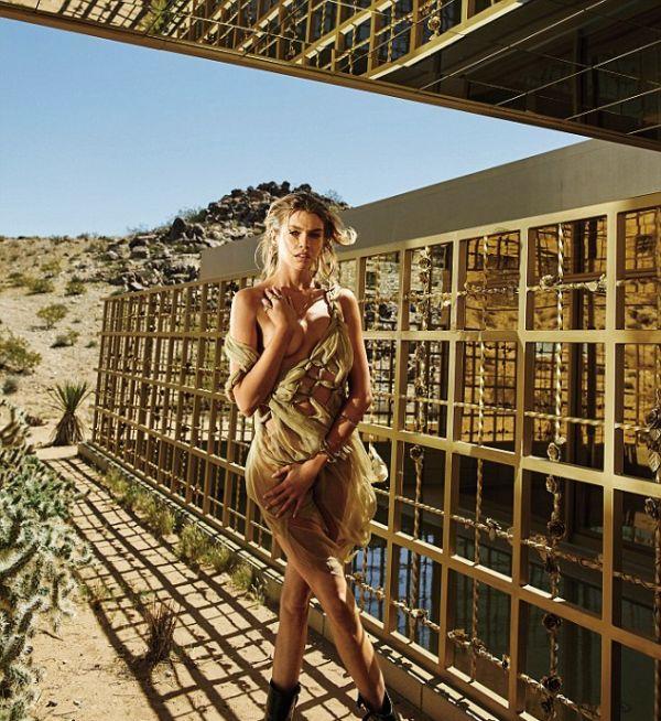 Стелла Максвелл стала самой сексуальной женщиной года по версии журнала Maxim (8 фото)
