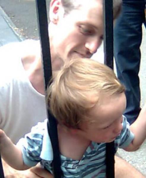 Застрявшие дети (40 фото)
