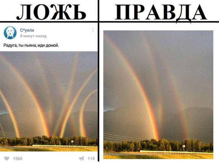 ложь и правда фото