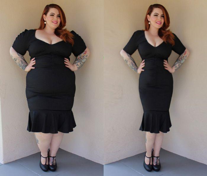 Зачетный троллинг моделей Plus Size от активистов проекта Thinner Beauty (14 фото)