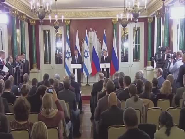 Владимир Путин пошутил о возвращении русских евреев на Родину