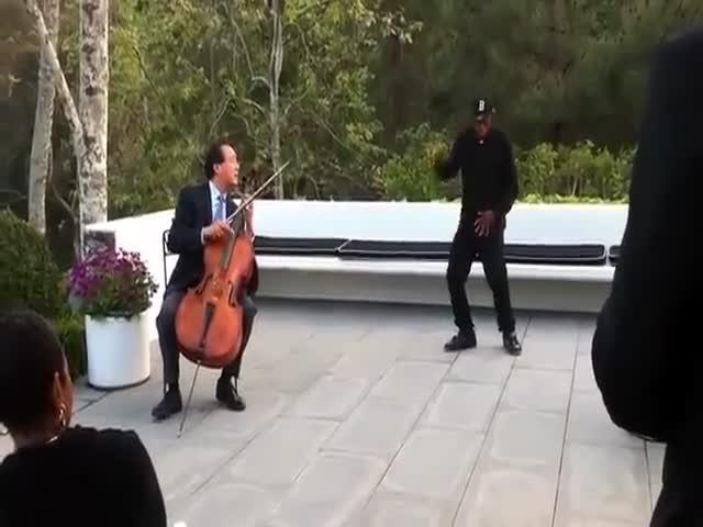 Современный танец под классическую музыку