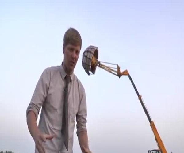 Колин Фёрз устроил грандиозный фейерверк
