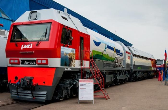 В Свердловской области испытывают первый серийный газотурбовоз ГТ1h (4 фото + видео)