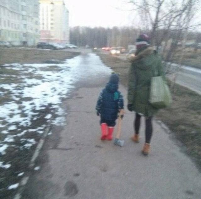 Фото, которые возможно было сделать только в России. Часть 31 (35 фото)
