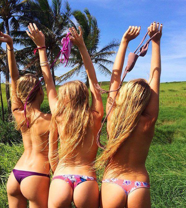 Девушки, которые не любят бюстгальтеры (40 фото)