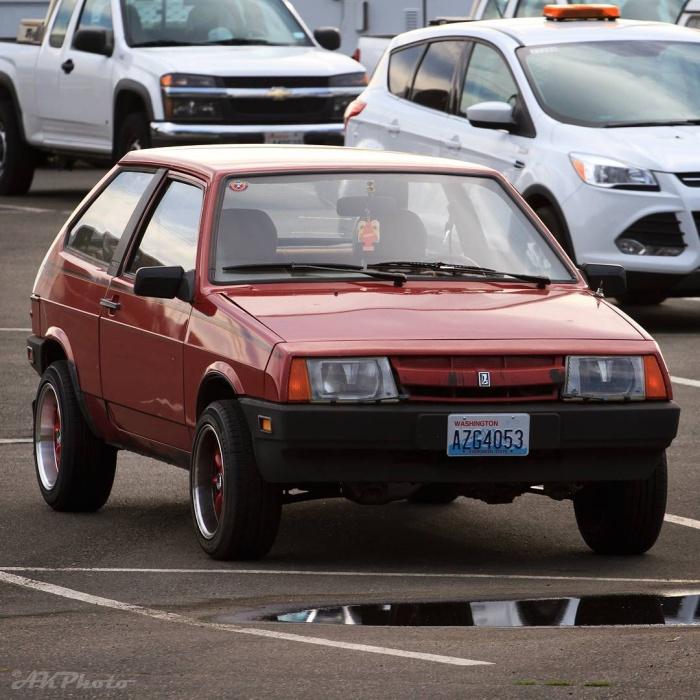 В США состоялся съезд владельцев советских автомобилей (15 фото)