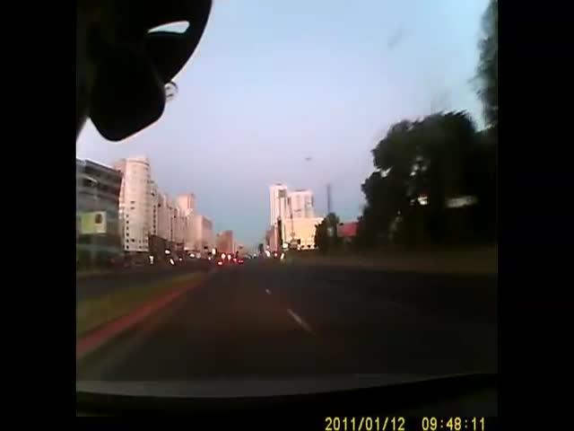 Погоня за Range Rover Evoque в Минске