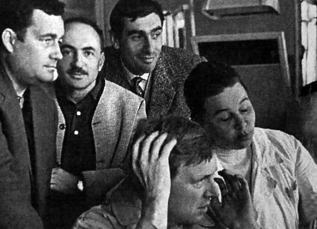 Редкие снимки со съемочных площадок советских фильмов (15 фото)