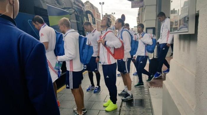 Сборная России проиграла сборной Словакии со счетом 1:2 (5 фото + 3 видео)
