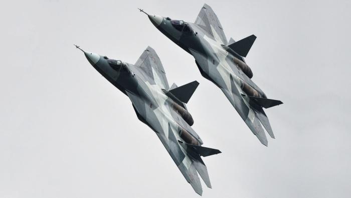 В 2017 году ВКС России получат истребитель пятого поколения (8 фото)