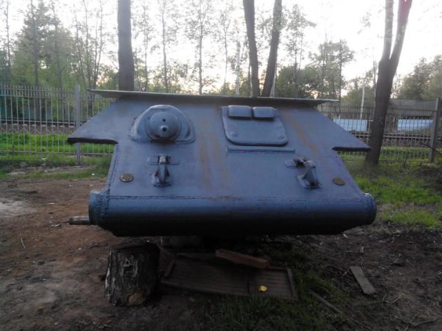 Восстановление танка Т-34 (50 фото)