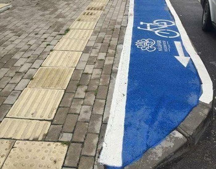 Велосипедные дорожки в Турции (2 фото)