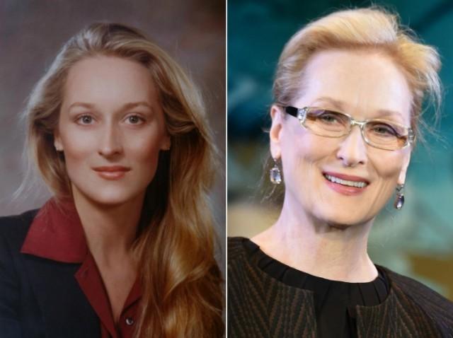 Знаменитые актрисы и певицы тогда и сейчас (20 фото)
