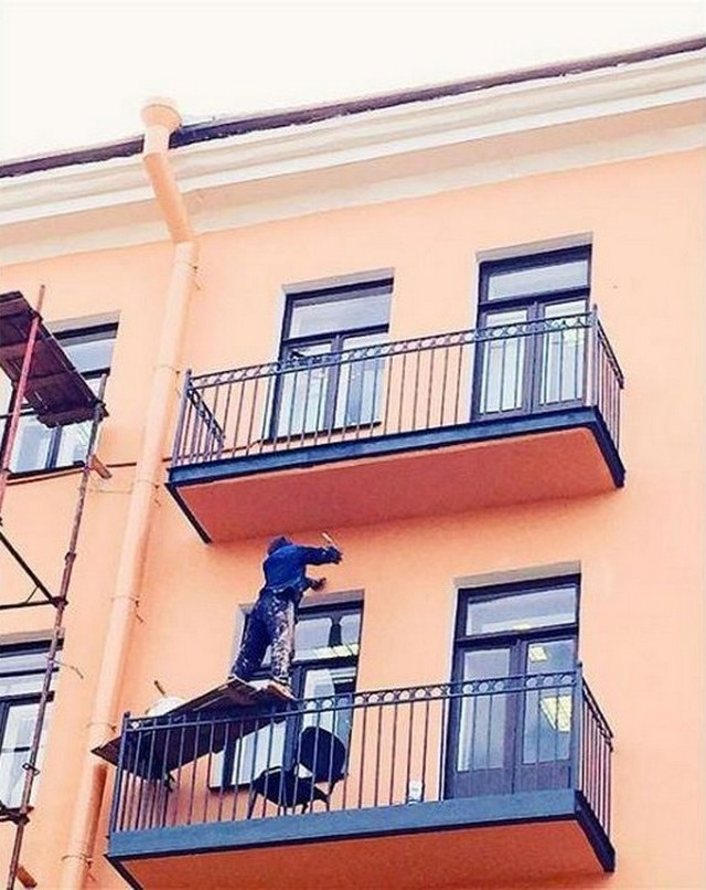 Birisi İş Güvenliği mi Dedi? (81 Fotograf)