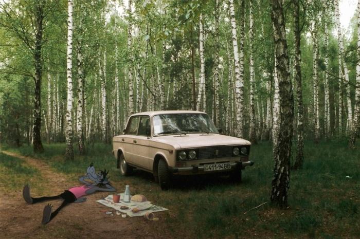 Герои известных фильмов и мультфильмов на просторах постсоветского пространства (29 фото)