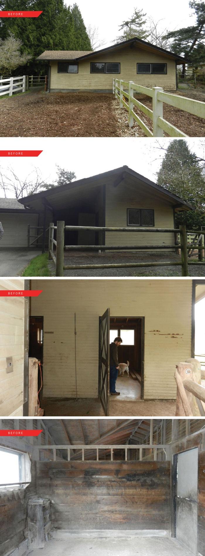 Гостевой домик в старой конюшне (9 фото)