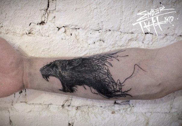 Современное искуссво татуировки (55 фото)