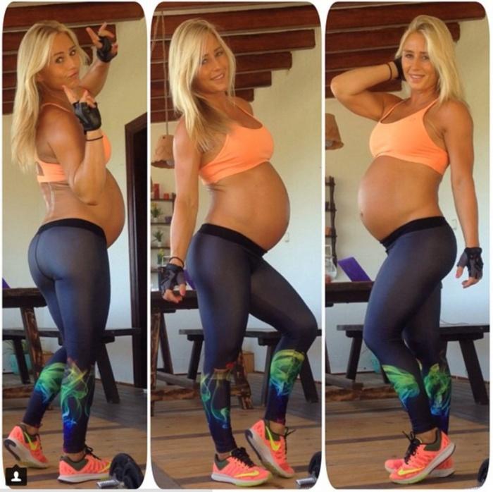 Восстановление спортивной фигуры после рождения ребенка (10 фото)