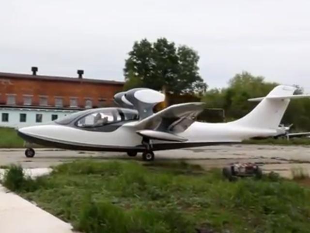 Новейший российский гидросамолет АСК-62