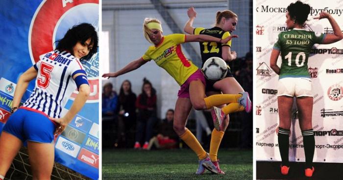 Женский футбол во всей красе (24 фото)