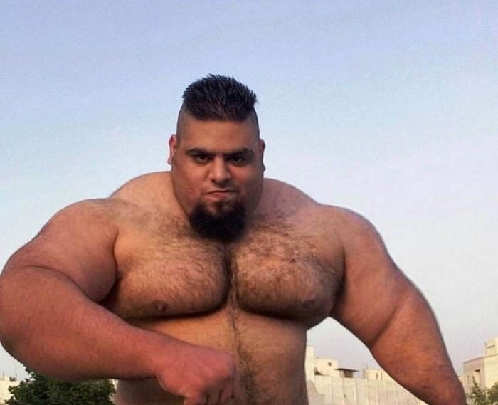 Тяжелоатлет Саджад Гариби - иранский «Халк» весом более 150 кг (14 фото)