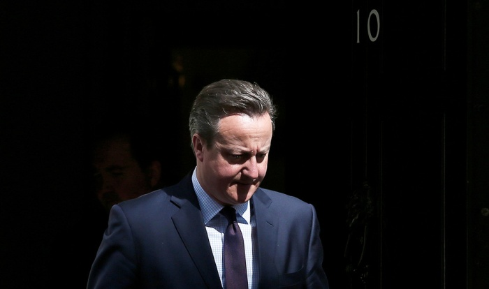 Премьер-министр Великобритании Дэвид Кэмерон заявил о своей отставке (4 фото)