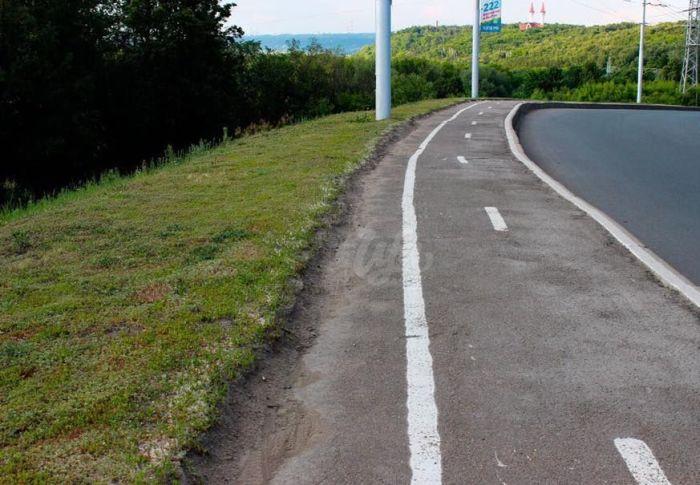 Велосипедные дорожки в Уфе (6 фото)