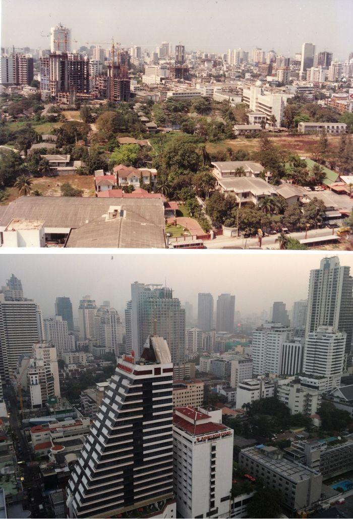 Как менялись мегаполисы (14 фото)