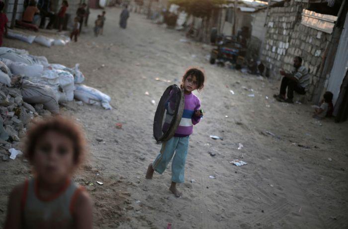 Трущобы беженцев в Секторе Газа (14 фото)