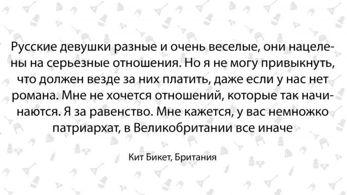 Британец Кит Бикет о своем знакомстве с Россией (14 фото)