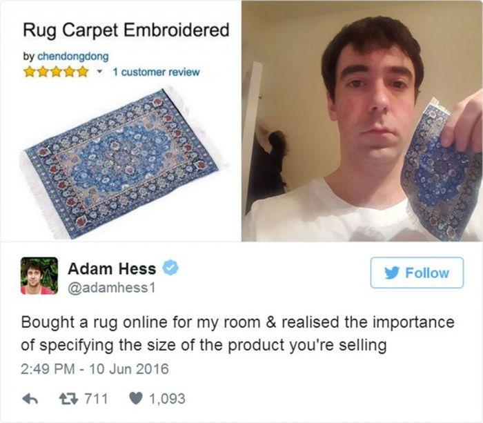 Неудачные покупки в интернете (36 фото)