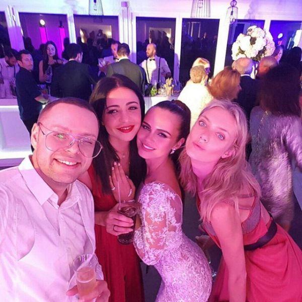 26-летняя молдавская модель Ксения Дели вышла замуж за 62-летнего бизнесмена (12 фото)