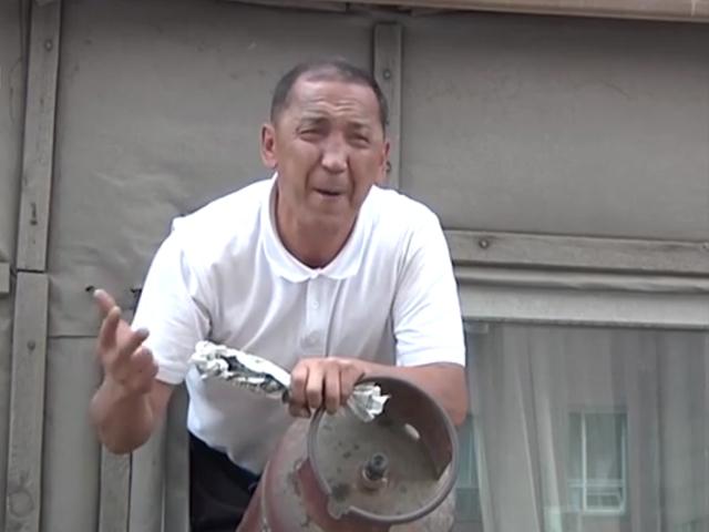 В Астане мужчина угрожал взорвать дом при помощи газового баллона